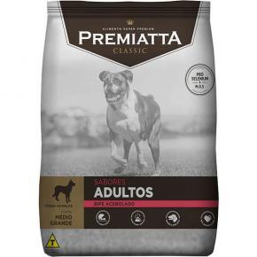 Ração Classic Premiatta Bife Acebolado para Cães 15kg