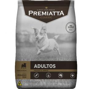Ração Premiatta Classic Frango e Arroz para Cães Adultos Raças Pequenas 7.5kg