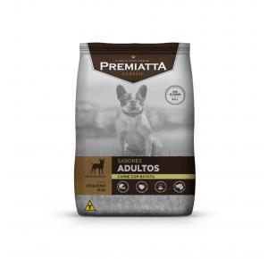 Ração Premiatta Classic para Cães Adultos Sabor Carne e Batata Raças Mini ePequenas 2kg