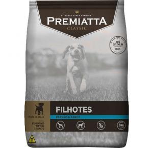 Ração Premiatta Classic para Cães Filhotes 3kg