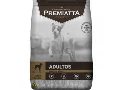 Ração Premiatta Classic Sabores Adultos Carne Com Batata Raças Porte Pequeno E Mini  2kg