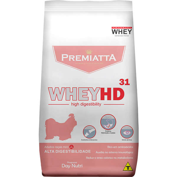 Ração Premiatta HD Alta Digestibilidade para Cães de Raças Mini 3kg
