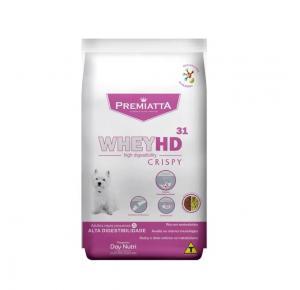 Ração Premiatta Whey HD 31 Crispy para Cães Adultos de Raças Pequenas 6kg