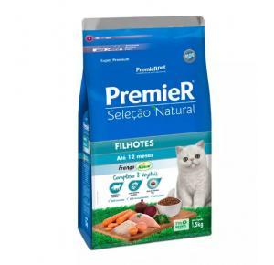 Ração Premier Seleção Natural Gatos Filhotes - 1,5kg