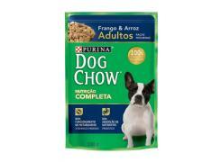 Ração Purina Dog Chow Adultos Raças Pequenas Sachê Frango e Arroz 100g