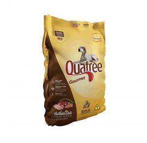 Ração Quatree Gourmet Cães Adultos Raças Médias e Grandes Sem Corantes 15kg