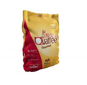 Ração Quatree Gourmet para Gatos Adultos Sabor Carne 3kg