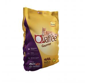 Ração Quatree Gourmet para Gatos Adultos Sabor Mix de Carnes 3kg