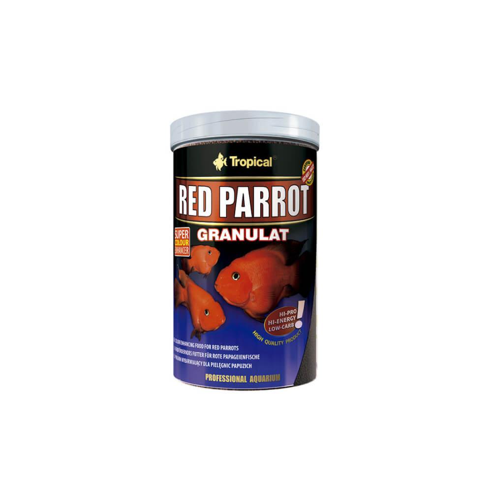 Ração Red Parrot Granulat 400g Tropical