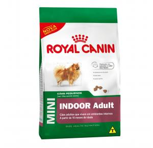 Ração Royal Canin Mini Indoor - Cães Adultos 2.5kg