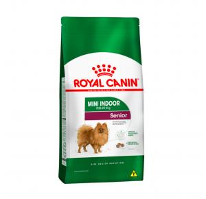 Ração Royal Canin Mini Indoor Cães Senior 1kg