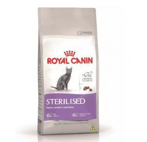 Ração Royal Canin Sterilised - Gatos Adultos 400g