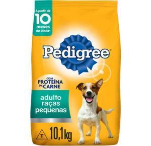 Ração Seca Pedigree para Cães Adultos Raças Pequenas 10.1kg