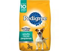 Ração Seca Pedigree para Cães Adultos Raças Pequenas 3kg