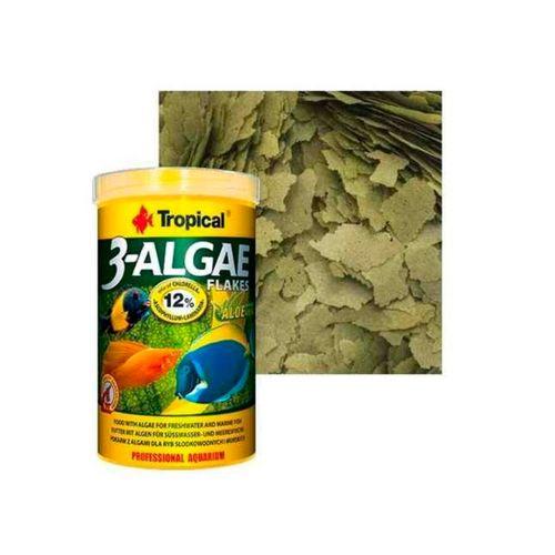 Ração Tropical 3-Algae Flakes 20g a Base de Algas