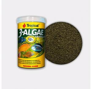Ração Tropical 3-Algae Granulat 44g a Base de Algas