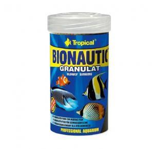 Ração Tropical Bionautic Granulat 55g Para Peixes Marinhos