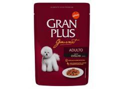 Ração Úmida GranPlus Gourmet Para Cães Adultos Sachê Sabor Ovelha 85g