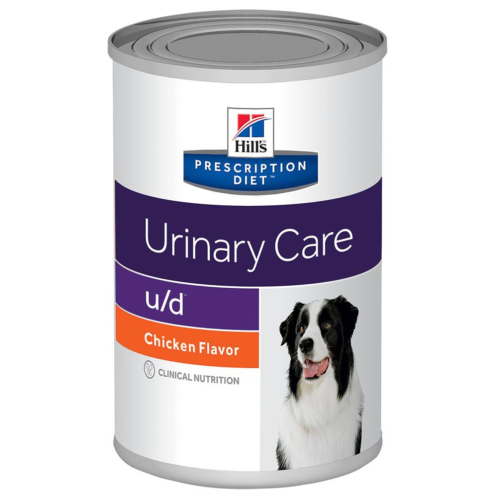 Ração Úmida Hills Prescription Diet U/D Cuidado Urinário Para Cães Adultos Com Doenças Urinárias - 370g