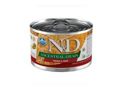 Ração Úmida Lata N&D Ancestral Grain Frango & Romã para Cães Adultos 140g