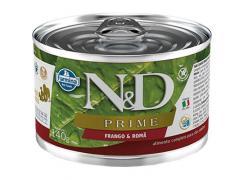 Ração Úmida N&D Prime Grain Frango  para Cães Adultos Lata 140g