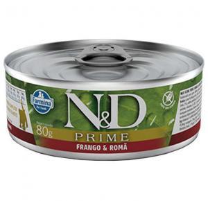 Ração Úmida N&D Prime Grain Frango para Gatos 80g