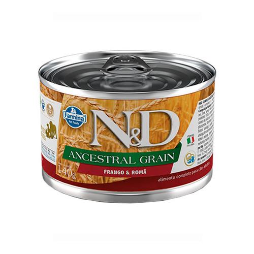 Ração Úmida N&D Pumpkin Frango, Abóbora & Romã para Cães Adultos Lata 140g
