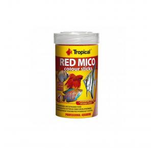 Ração para Peixes Red Mico Colour Sticks 32g Tropical