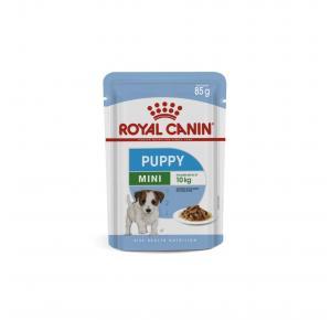 Ração Úmida Sachê para Cães Mini Puppy Filhotes 85g Royal Canin