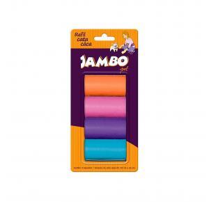 Refil Saquinho 4 Rolos Basic Jambo Pet