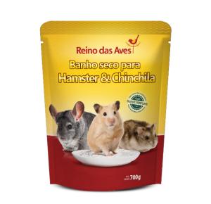 Banho Seco para Hamsters e Chinchilas Reino das Aves 700g