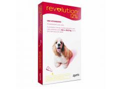 Revolution Zoetis 12% 2ml para Cães de 20,1Kg a 40kg