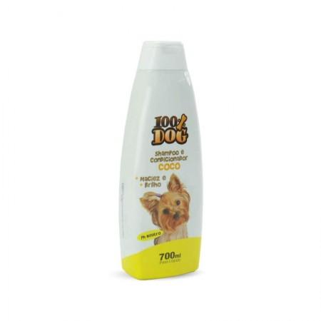 Shampoo 100% Dog coco 700ml