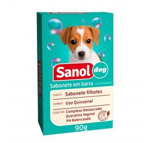 Sabonete Filhotes Sanol Dog