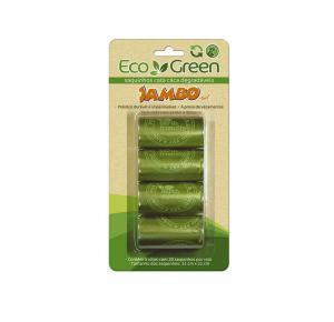 Saquinhos Higiênicos Eco Green Cata Cata Jambo Pet
