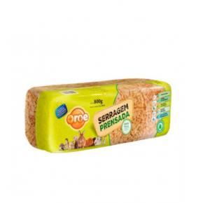Serragem para hamster prensada 800 gr - MAIS ROE