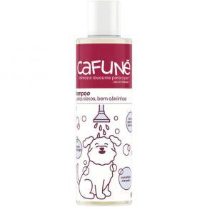 Shampoo Cafuné Pelos Brancos para Cães e Gatos 300ml