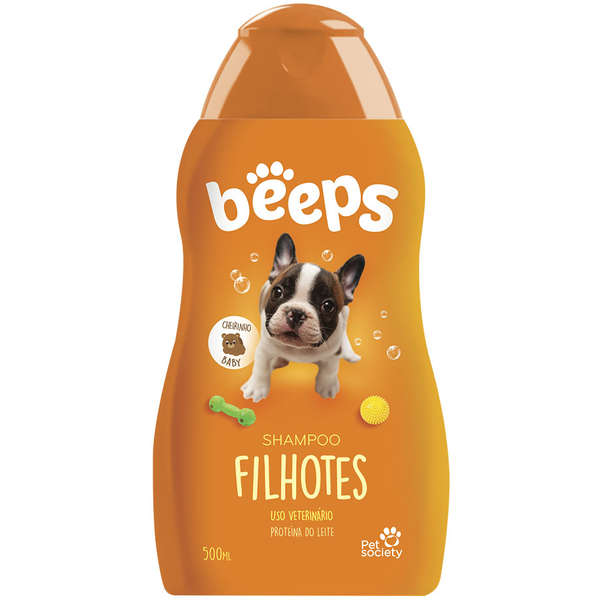 Shampoo Pet Society Beeps Filhotes 500ml