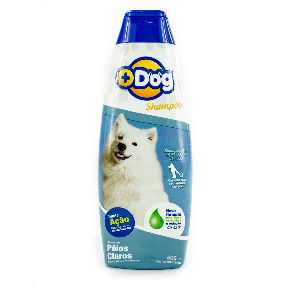 Shampoo Mais Dog pelos claros 500ml