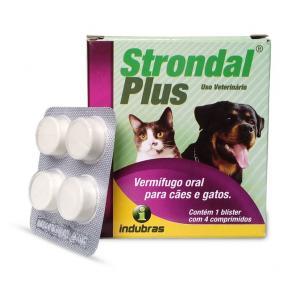 Strondal Plus 4 comprimidos Indubras