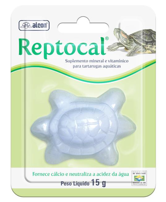 Suplemento Alcon  Reptocal Tartaruga