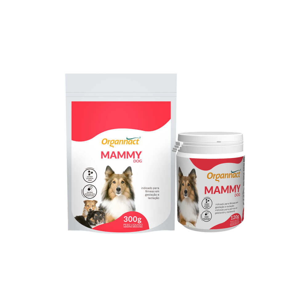Suplemento Alimentar Mammy Dog Sache Organnact