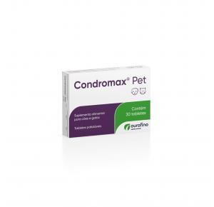 Suplemento Condromax para Cães e Gatos 30 Tabletes Ourofino