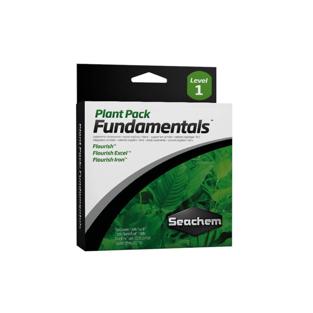 Suplemento Plant Pack Fundamentals 3 x Seachem 100 ml