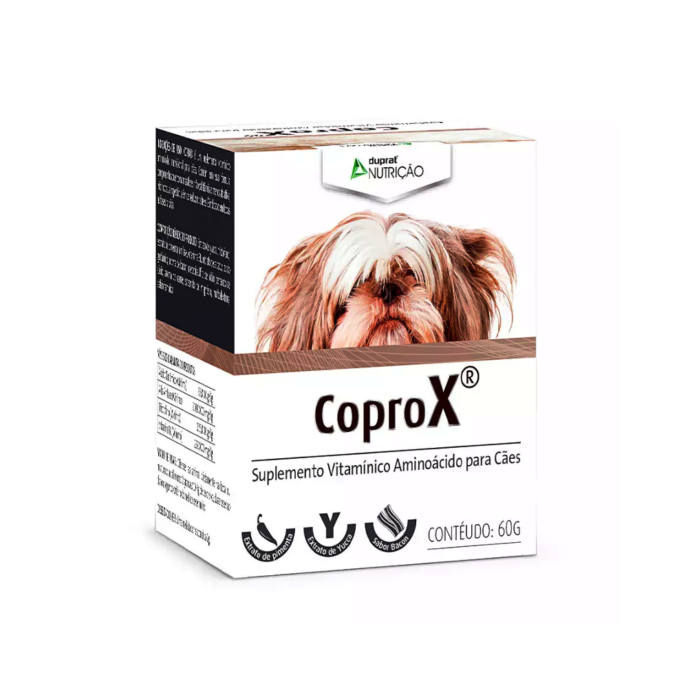 Suplemento Vitamínico Coprox para Cães Duprat 60gr