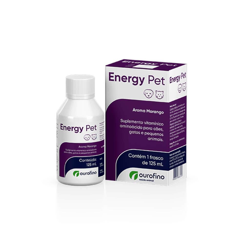 Suplemento Vitamínico Energy Pet 125ml Ourofino