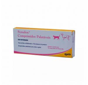 Synulox Comprimidos Palatáveis 50mg Zoetis