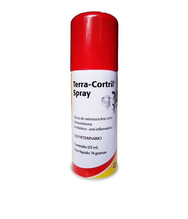 Terra-Cortril Spray Zoetis 125 mL