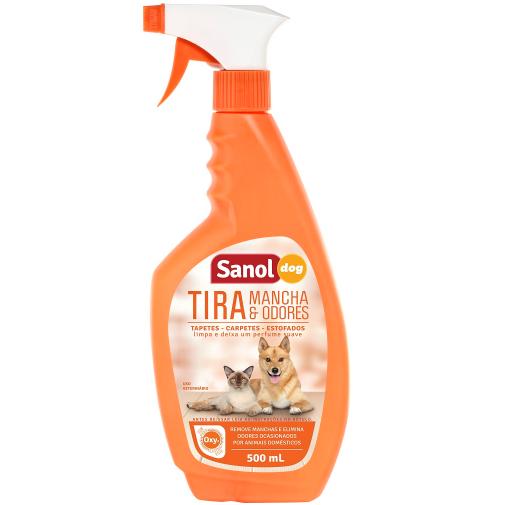 Tira Manchas e Odores Sanol Dog 500ml