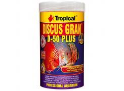 Alimento para peixe Tropical Discus Gran D-50 Plus 110g